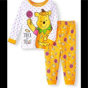 Disney Winnie The Pooh Halloween Pajama